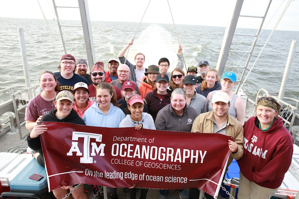 Oceanography Group Photo By Jake Cox